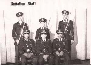 1950-1951 Dunbar HIgh Cadet Corps - Battalion Staff