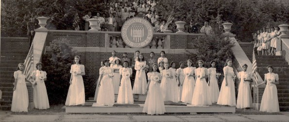 Howard University 1946 May Queen and Court
