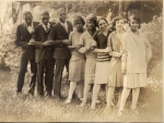 Tuskegee Institute Commerce Class 1929