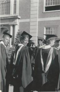 Howard University Graduation - June 3, 1949